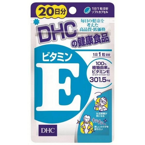 Viên Uống DHC Bổ Sung Vitamin E Từ Nhật Bản