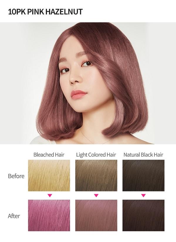 Dầu Gội Nhuộm Tóc Với Nhiều Gam Màu Thời Thượng Etude house Hot Style Hair Color Bubble