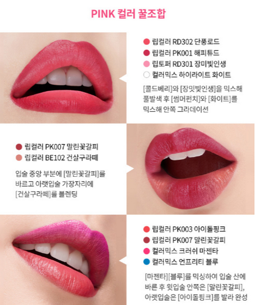 Son Lì Mịn Môi Etude House Mini Two Matching Lip Color
