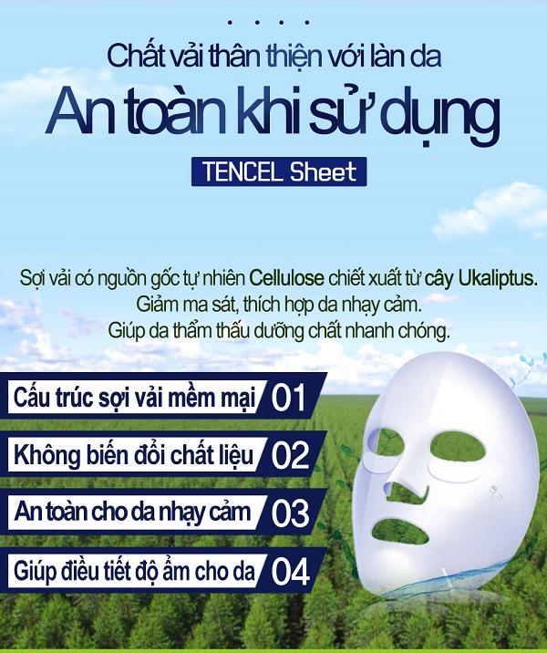Chất vải mặt nạ Enesti Pomegranate Multi Care Mask 27g