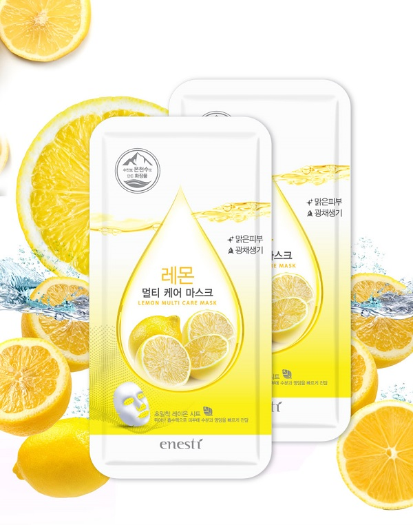 Mặt nạ Enesti Lemon Multi Care Mask 27g