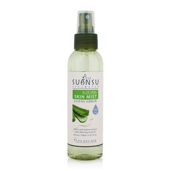 Ảnh thực Xịt Khoáng Dưỡng Ẩm Chiết Xuất Lô Hội Enesti Suansu Aloe Vera Skin Mist 150ml