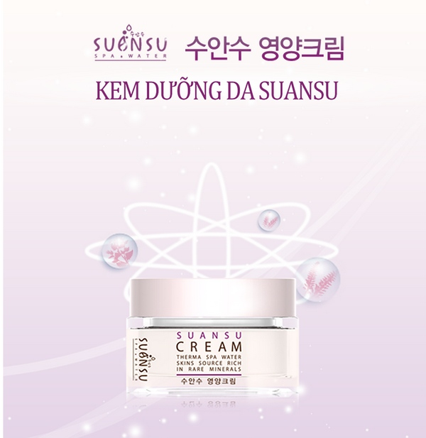 Kem Dưỡng Ẩm, Ngăn Ngừa Lão Hóa Và Dưỡng Da Trắng Sáng Enesti Suansu Cream 50g