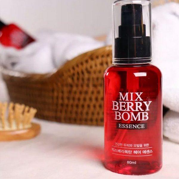 Tinh Chất Phục Hồi Tóc Hư Tổn Mix Berry Bomb Essence 80ml