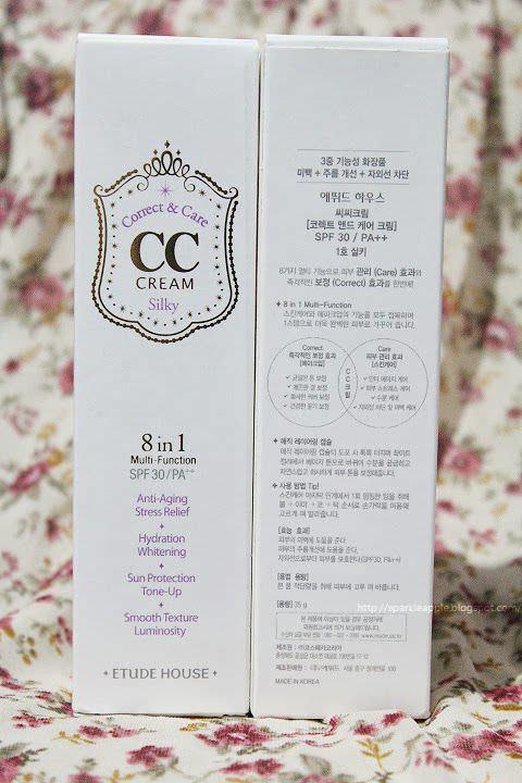 Kem CC Lớp Mỏng Diệu Kỳ 8 trong 1 Etude House CC Cream 8 in 1 SPF30/PA++ 35g