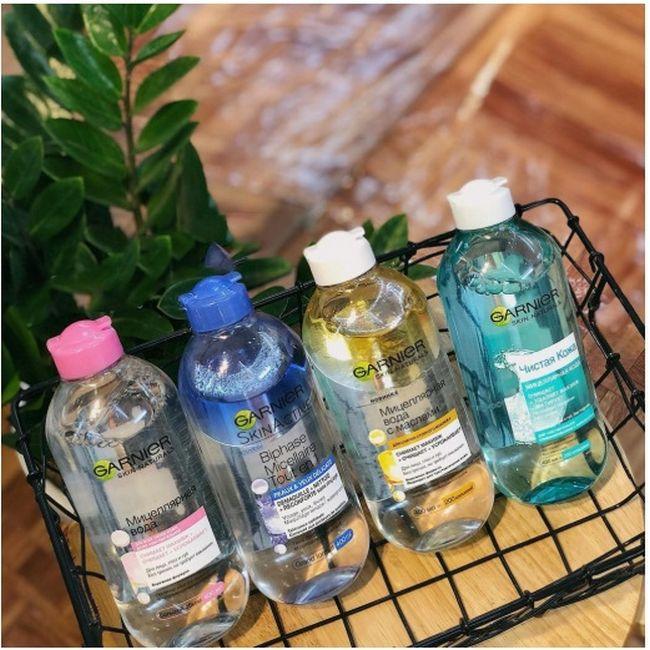 Nước Tẩy Trang Dành Cho Da Dầu Mụn Garnier Skin Naturals 400ml 3