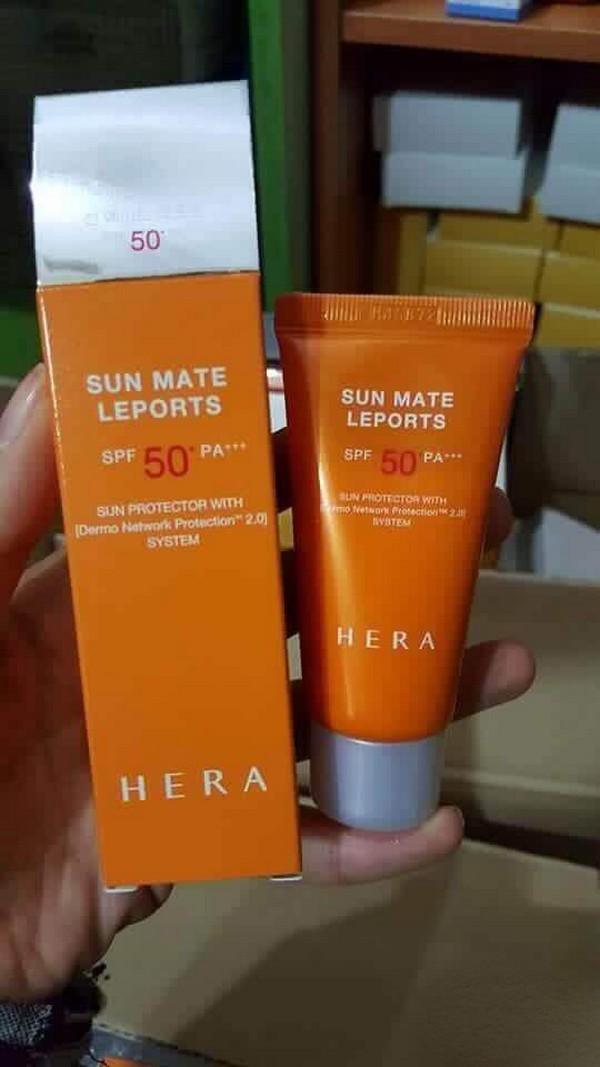 Kem Chống Nắng Ngăn Chặn Lão Hóa Da Hera Sun Mate Leports SPF50+/PA+++ 15ml