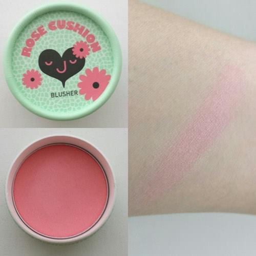 Phấn Má Hồng The Face Shop Lovely Meex Cushion Blusher 4