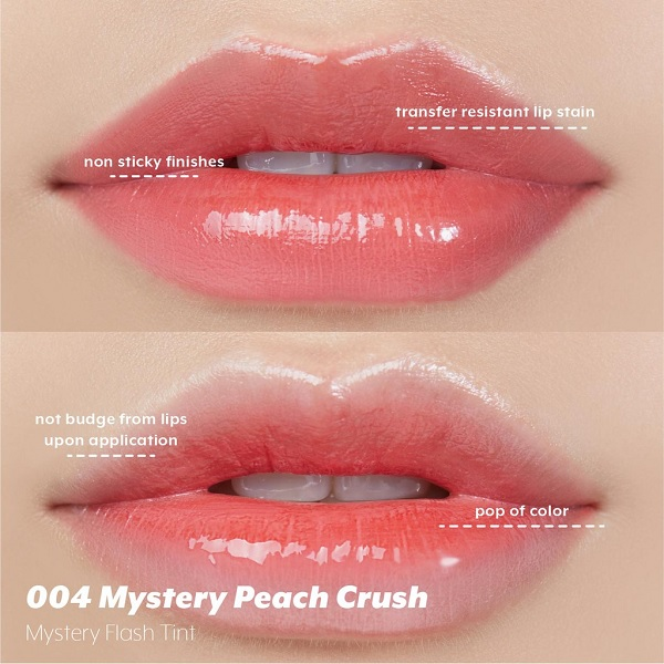 Màu 004 Son tint lì, căng bóng môi I'm Meme Mystery Flash Tint 3.1g