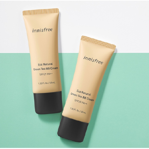Kem BB Cream Innisfree Eco Natural Green Tea SPF29 40ml #02 - Tự Nhiên Natural