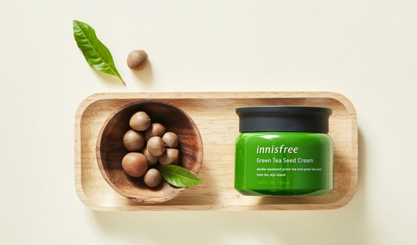 Kem Dưỡng Ẩm Chiết Xuất Hạt Mầm Trà Xanh Innisfree Green Tea Seed Cream 50ml