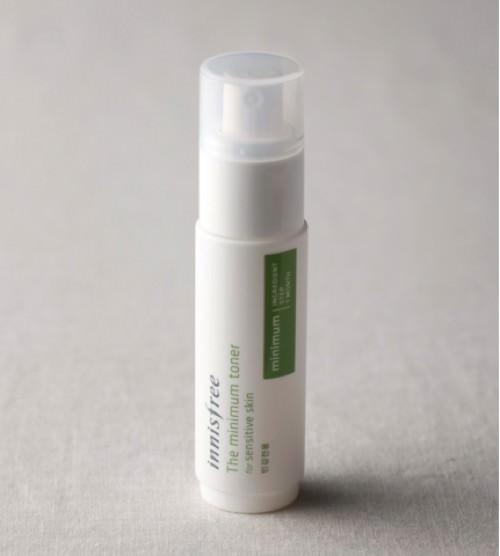 Nước Hoa Hồng Cho Da Nhạy Cảm Innisfree The Minimum Toner For Sensitive Skin 45ml