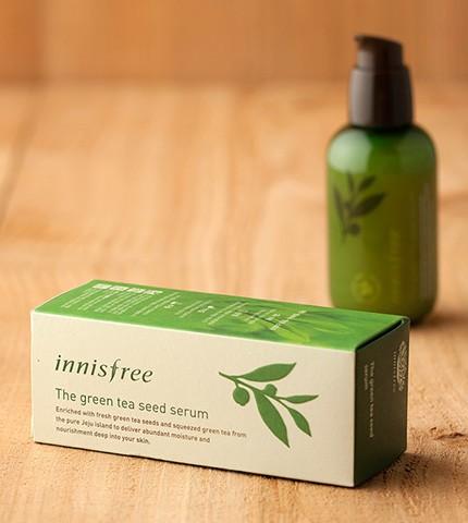 Tinh chất dưỡng trà xanh innisfree the green tea seed serum