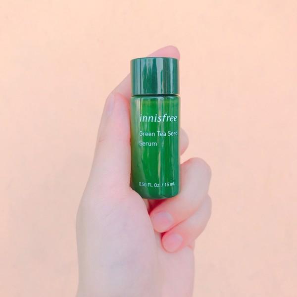 Bộ Dưỡng Da Dùng Thử Innisfree Trà Xanh Green Tea Special Kit EX Set (4 Sản Phẩm)