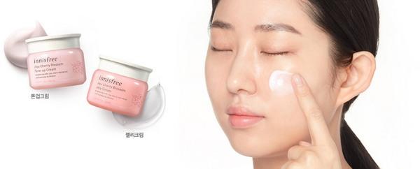 Kem Dưỡng Innisfree Jeju Cherry Blossom Tone Up Cream 1