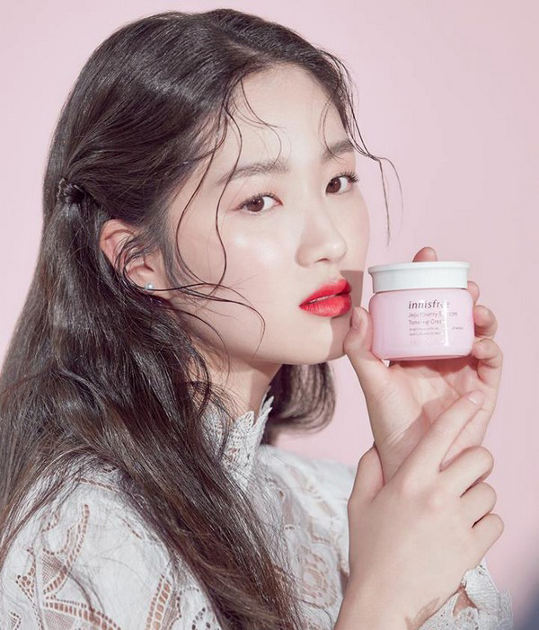 Kem Dưỡng Innisfree Jeju Cherry Blossom Tone Up Cream 50ml