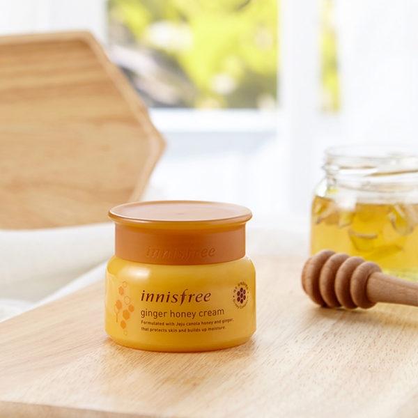 Kem Dưỡng Ẩm Chuyên Sâu Gừng Mật Ong Innisfree Ginger Honey Cream