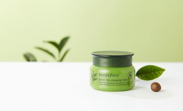 Mặt nạ ngủ trà xanh Innisfree Green TeaSleeping Mask80ml