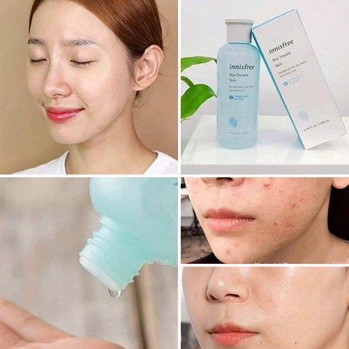 Nước Hoa Hồng Dành Cho Da Mụn Jeju Bija Trouble Skin 200ml