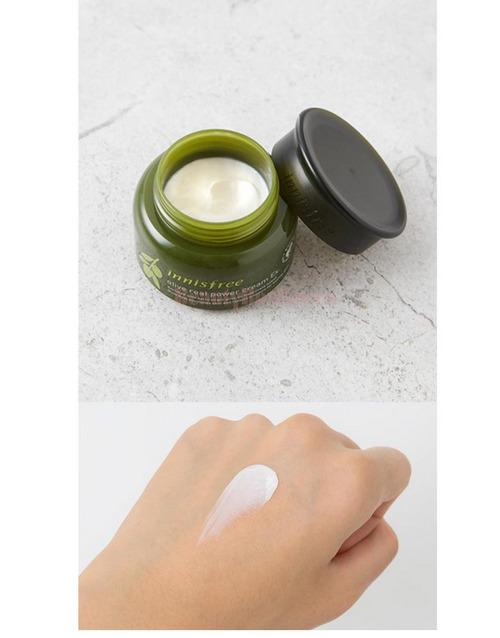 Kem Dưỡng Chiết Xuất Oliu Vàng Dành Cho Da Khô Innisfree Olive Real Power Cream Ex 50ml