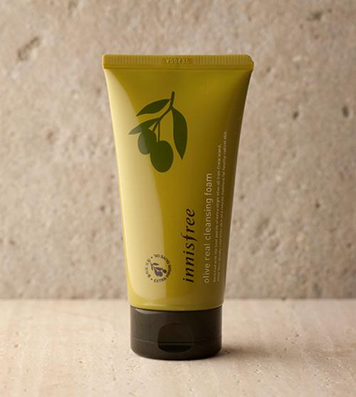 Bao bì cũ Sữa Rửa Mặt Dưỡng Ẩm Sâu Innisfree Olive Real Cleansing Foam 150ml