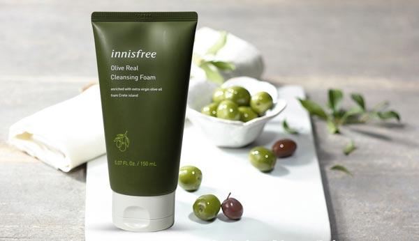 Thành phần Sữa Rửa Mặt Dưỡng Ẩm Sâu Innisfree Olive Real Cleansing Foam 150ml