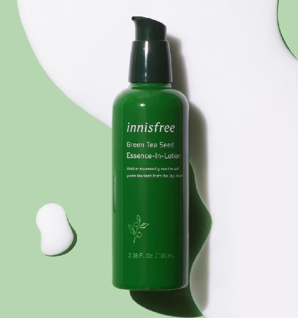 Hình ảnh thưc tế Sữa Dưỡng Tinh Chất Trà Xanh Innisfree Green Tea Seed Essence-In-Lotion