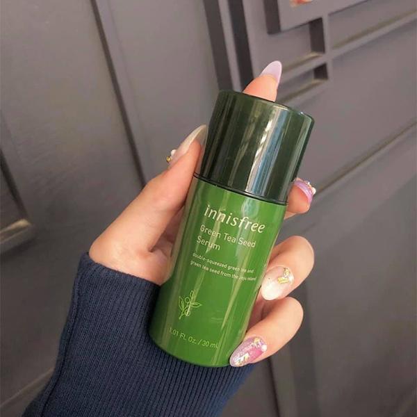 Tinh chất dưỡng da chiết xuất trà xanh Innisfree Green Tea Seed Serum 30ml