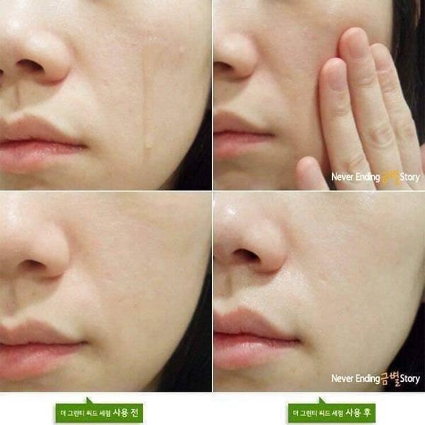Cách sử dụng Tinh chất dưỡng da chiết xuất trà xanh Innisfree Green Tea Seed Serum 30ml