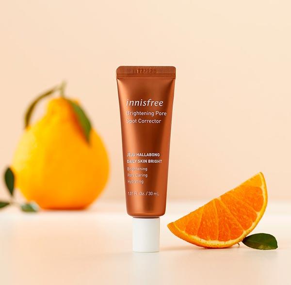Hình ảnh thực tế Tinh Chất Làm Sáng Da, Chăm Sóc Lỗ Chân Lông Innisfree Brightening Pore Spot Treatment 30ml