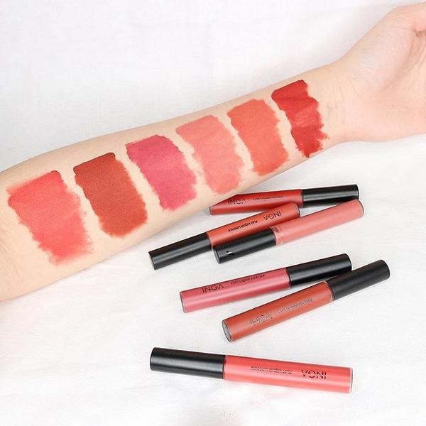 Son Kem Lì Lên Màu Siêu Chuẩn Inga Flat Liquid Lipstick