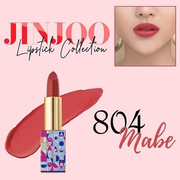 Màu 804 son JinJoo Lipstick Collection
