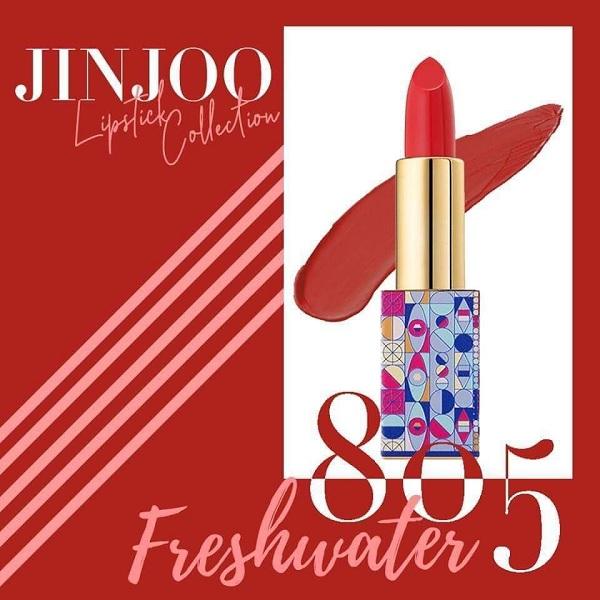 Màu 805 son JinJoo Lipstick Collection