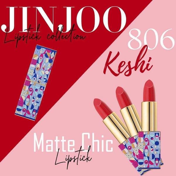 Màu 806 son JinJoo Lipstick Collection