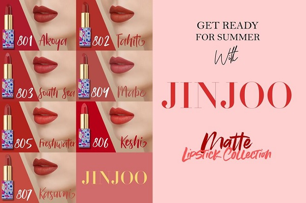 Chất son JinJoo Lipstick Collection