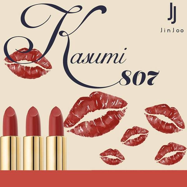 Màu 807 son JinJoo Lipstick Collection