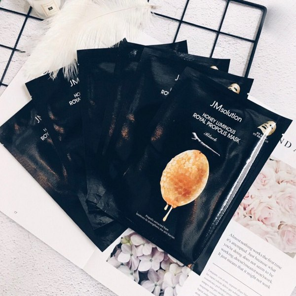 Mặt Nạ Sáp Ong Jm Solution Honey Luminous Royal Propolis Mask 30ml