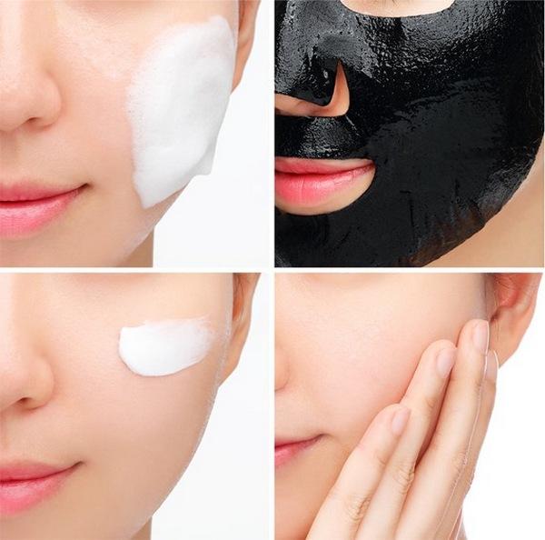 Mặt Nạ Chăm Sóc Da Sáng Mịn Chiết Xuất Từ Ngọc Trai Đen Hàn Quốc JM Solution Marine Luminous Black Pearl Balancing Mask