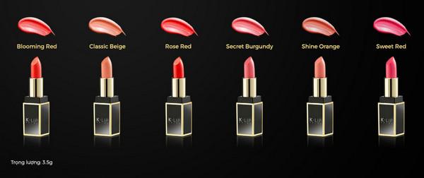 SonThỏi Tuyệt Sắc Siêu Mịn Môi Klip Seoul Lipstick Ver-02