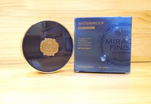 Phấn Nước Không Trôi The Face Shop Finish Waterpoof Cushion 15g