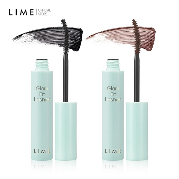 Hình ảnh thực tế Mascara Chống Lem Trôi, Làm Dài Mi Tự Nhiên Lime Glam Fit Lashes 7ml