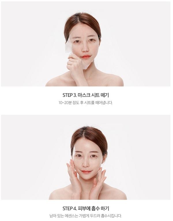 Hướng dẫn sử dụng Mặt Nạ Dưỡng Ẩm Chiết Xuất Hoa Hồng Lime Pink Recovery Mask Moist Solution 25ml