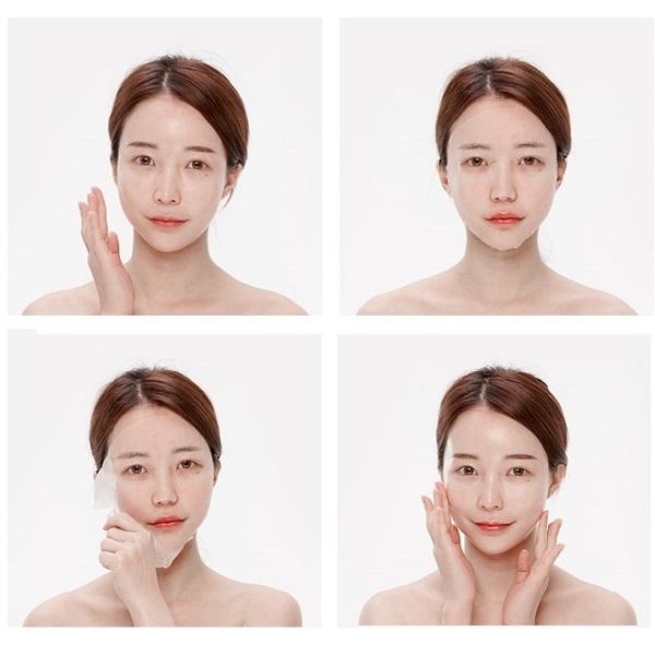 Hướng dẫn sử dụng Mặt Nạ Dưỡng Săn Chắc Da Chiết Xuất Hoa Đào Lime Pink Recovery Mask Firming Solution 25ml