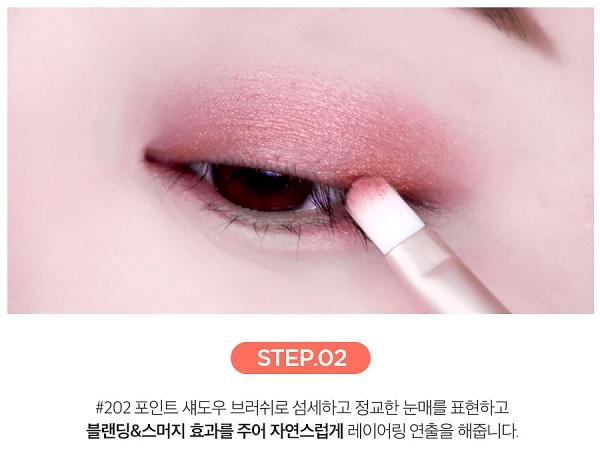 Hướng dẫn sử dụng phấn mắt Lime Color & Eyes Single Shadow 1.4g