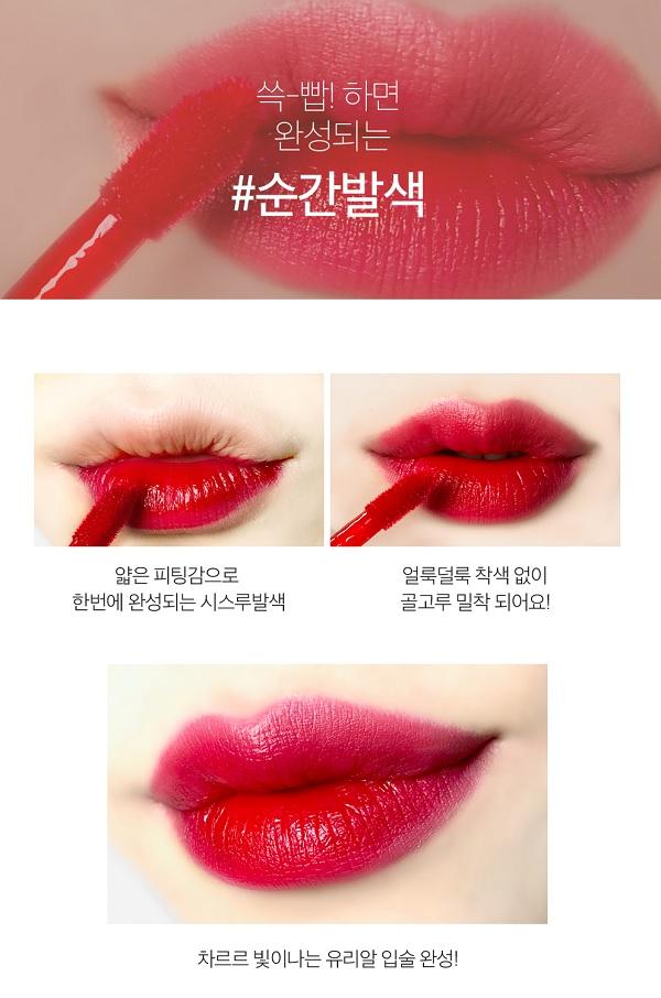 Công dụng Son Nước Lâu Trôi Lime Water Lip Paint 3.5ml