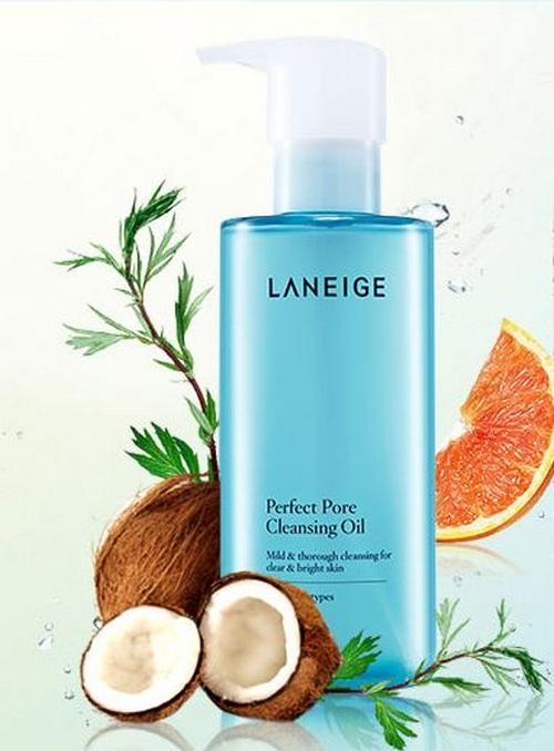 Thành phần Dầu Tẩy Trang Làm Sạch Lỗ Chân Lông Laneige Perfect Pore Cleansing Oil 250ml