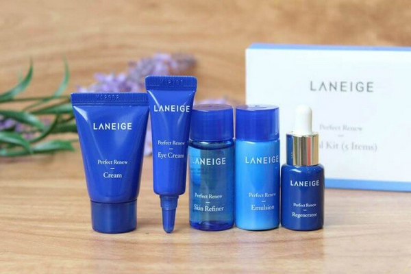 Bộ Dưỡng Da Chống Lão Hoá Laneige Perfect Renew Trial Kit (5 Sản Phẩm)