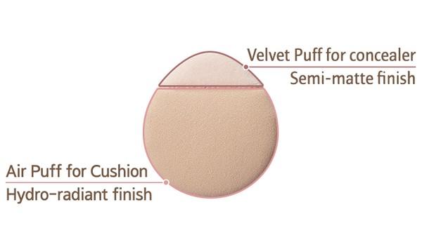 Phấn nước che phủ 2 trong 1 Laneige Layering Cover Cushion 5