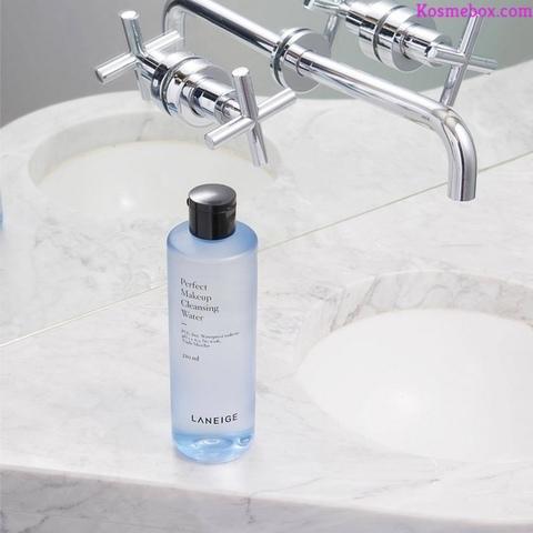 Review NướcTẩy TrangDưỡng ẨmVà Làm Sạch SâuLaneigePerfectMakeupCleansing Water 320ml