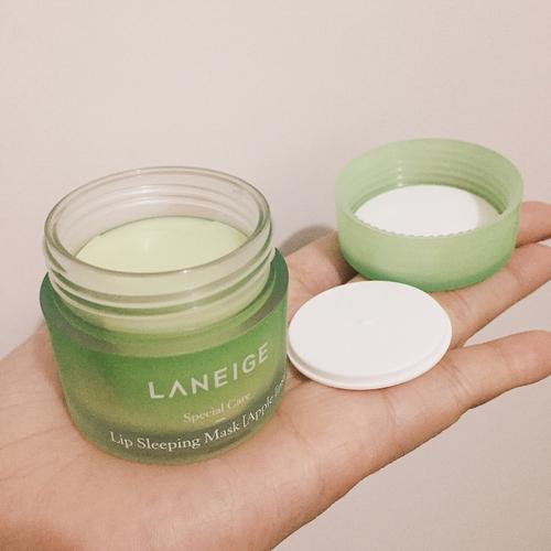 Mặt Nạ Ngủ Dưỡng Ẩm Môi Và Phục Hồi Môi Thâm Laneige Lip Sleeping Mask (Apple Lime) 20g